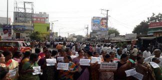 Amaravathi protests