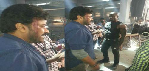 """Khaidi No.150"" Pre-Climax Shooting Scene Leaked"