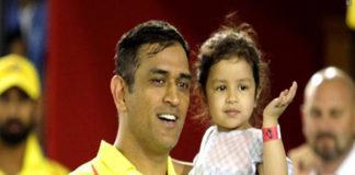 Ziva Wants 'Daddy's Hug' During IPL Match