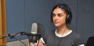 Aditi Rao Hydari Dubbing for Sammohanam