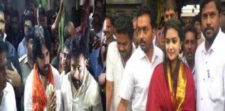Pawan visits Srikalahasti Temple