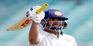 Prithvi Shaw century on Test debut