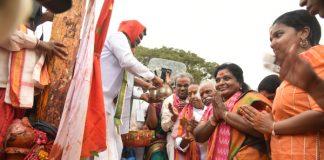 Governor Tamilisai at Medaram